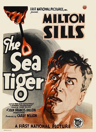 The Sea Tiger - 1927 theatrical poster