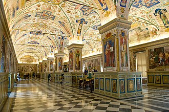 Vatican Library - Image: The Sistine Hall of the Vatican Library (2994335291)
