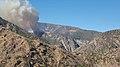 The Thomas Fire burns near Devils Gate. (25655014958).jpg