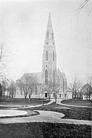 Goshen (village), New York - First Presbyterian Church, 1899