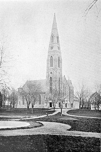 Goshen (village), New York - First Presbyterian Church, 1899