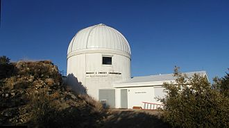 Warner and Swasey Observatory - The Warner and Swasey Observatory at Kitt Peak National Observatory