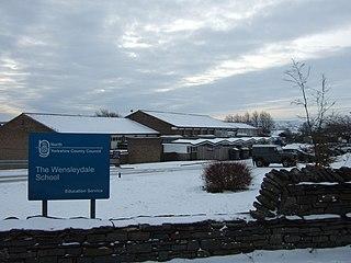 The Wensleydale School Community school in Leyburn, North Yorkshire, England