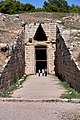 The entrance to the Tomb of Clytemnestra on October 27, 2019.jpg