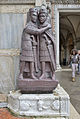 The four tetrachs in Venice - Porphyr stone sculpture.JPG