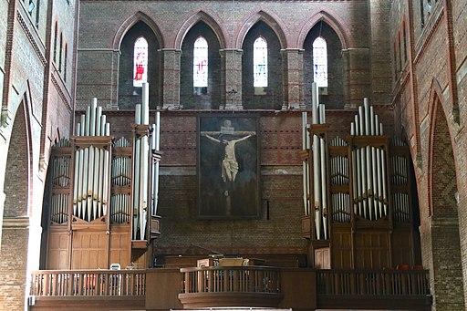 The organ, St Bartholomew's Church, Brighton