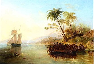 Charles Eaton (1833 ship) - The rescue of William D'Oyly, 1841l