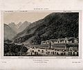 The thermal baths and mountains of Bagnères de Luchon, inclu Wellcome V0012200.jpg