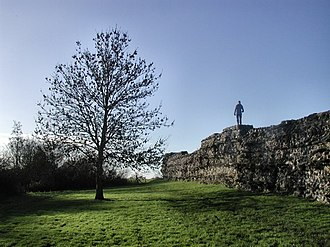 Calleva Atrebatum - Part of the city walls