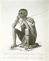 Theal Ethnography - Portrait of a Bushman playing on the gorah.png