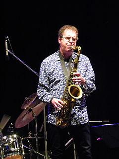 Theo Travis British saxophonist