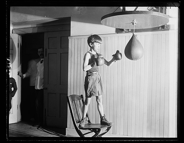 Source: http://upload.wikimedia.org/wikipedia/commons/thumb/a/a2/Theodore_Roosevelt_III_punching_bag.jpg/620px-Theodore_Roosevelt_III_punching_bag.jpg