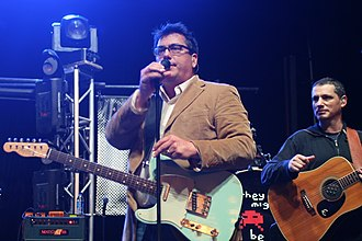 John Flansburgh - Flansburgh performing with They Might Be Giants in October 2010