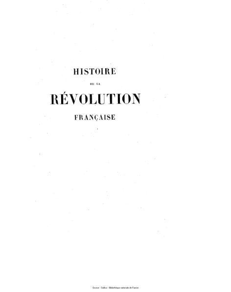 File:Thiers - Histoire de la Révolution française, tome 10.djvu