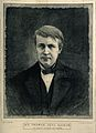Thomas Alva Edison. Wood engraving by M. K. L. Wright after Wellcome V0001736.jpg