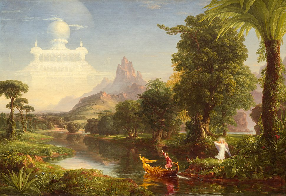 Thomas Cole - The Voyage of Life Youth, 1842 (National Gallery of Art)