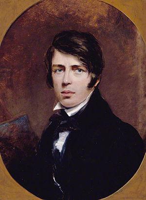 Thomas Creswick - Self portrait (1828)