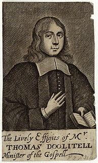 Thomas Doolittle English nonconformist minister