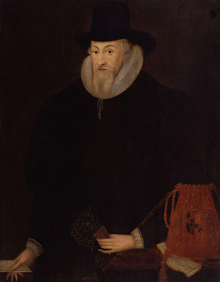 Lord Ellesmere, who worked to maintain the Chancery's ability to override the common law courts as Lord Chancellor Thomas Egerton, 1st Viscount Brackley from NPG.jpg