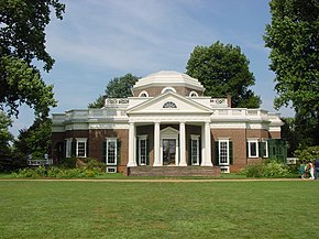 UNESCOs verdensarv Monticello and the University of Virginia in Charlottesville