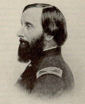 Emily Dickinson - Thomas Wentworth Higginson in uniform; he was colonel of the First South Carolina Volunteers from 1862 to 1864.