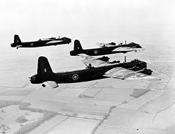 Three Stirling bombers taking off. Great Britain mod.jpg