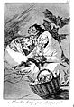 Three old hags surround a basket of new-born babies with bat Wellcome L0019465.jpg