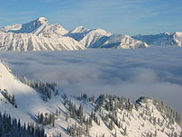 Three Sisters, Fernie, British Columbia
