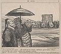 Tiens, regarde cette caisse...., elle renferme les envoyés Américains qui se rendent a Pékin!...., from En Chine, published in Le Charivari, October 4, 1859 MET DP876777.jpg
