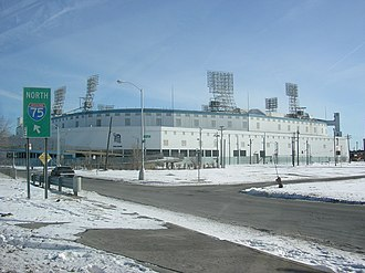 U.S. Route 12 in Michigan - Image: Tiger Stadium, Detroit