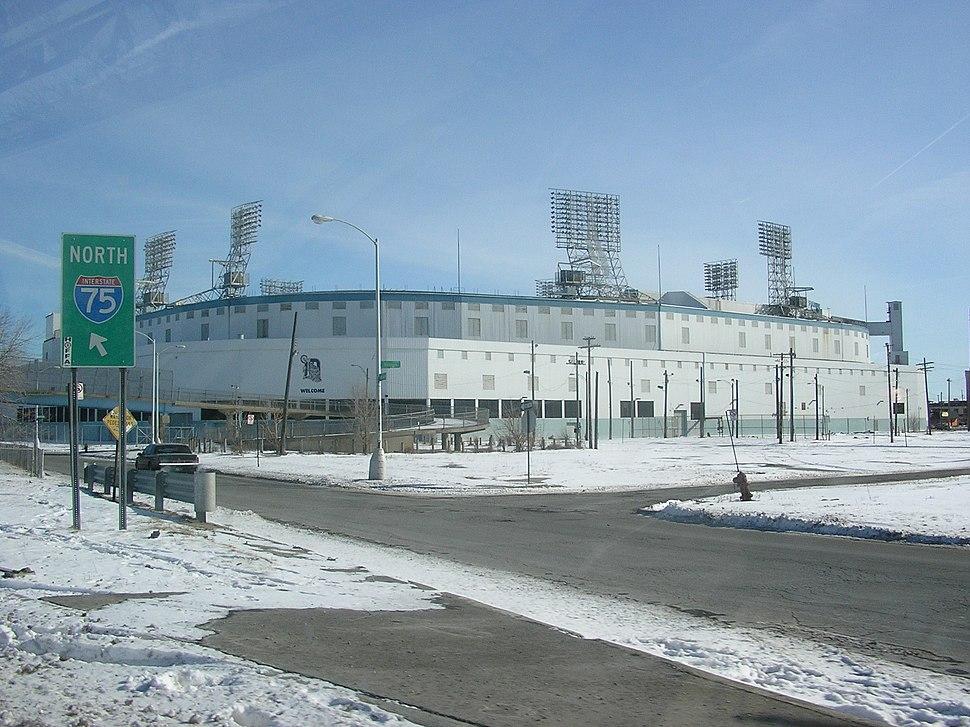 Tiger Stadium, Detroit