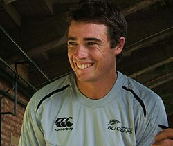 Tim Southee at a training session at the Adelaide Oval in 2009