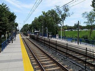 Timonium, Maryland - Timonium Fairgrounds station