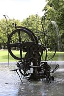Tinguely-Jo Siffert Fountain Fribourg Aug 2010.jpg