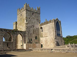 Nicholas Walsh (judge) - Tintern Abbey, Wexford, home of Nicholas Walsh's second wife Jacquetta Colclough.