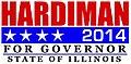 Tio Hardiman 2014 gubernatorial Campaignlogo.jpg