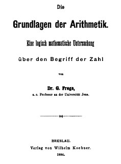 <i>The Foundations of Arithmetic</i> book by Gottlob Frege