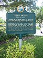 Titusville Titus House plaque01.jpg