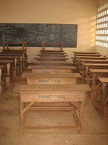 多哥-行政区划-Togo school furniture
