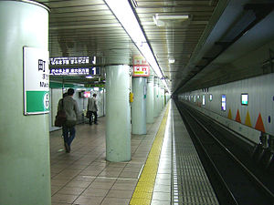 Machiya Station - Station platforms
