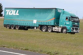 Toll Domestic Forwarding - Toll Volvo FH