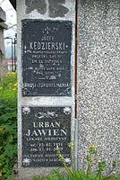 Tomb of Kędzierski family at Central Cemetery in Sanok (Matejki part) 3.jpg