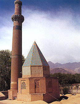 Tomb of Abd al Samad, built in 1304.