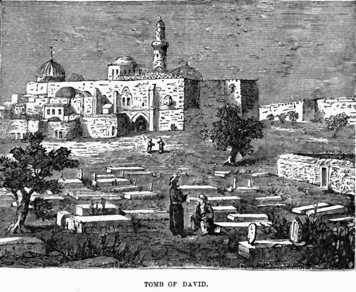 Tomb of david Mt zion 1887