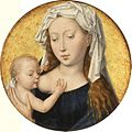 Tondo with the Virgin Suckling the Christ Child by Hans Memling.jpg