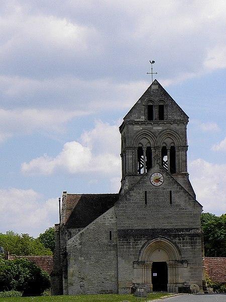 Église Saint-Bathélemy de Torcy-en-Valois (02).
