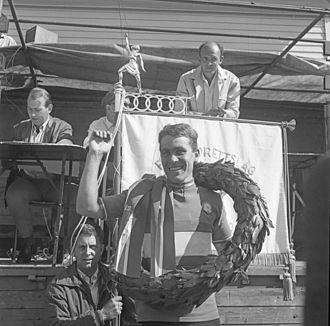 Tore Milsett - Milsett in around 1968