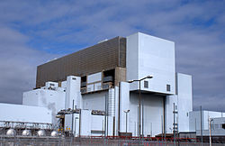 Torness, a nuclear power plant in Scotland.