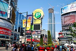 Yonge–Dundas Square in 2013