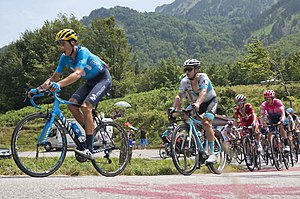 Tour de France 2019, Marc Soler and Alexey Lutsenko (48417059882).jpg